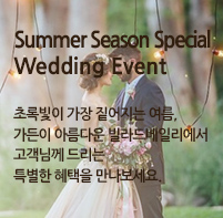 Summer Season Special Wedding Event